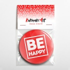 Значок «BE HAPPY» B560471